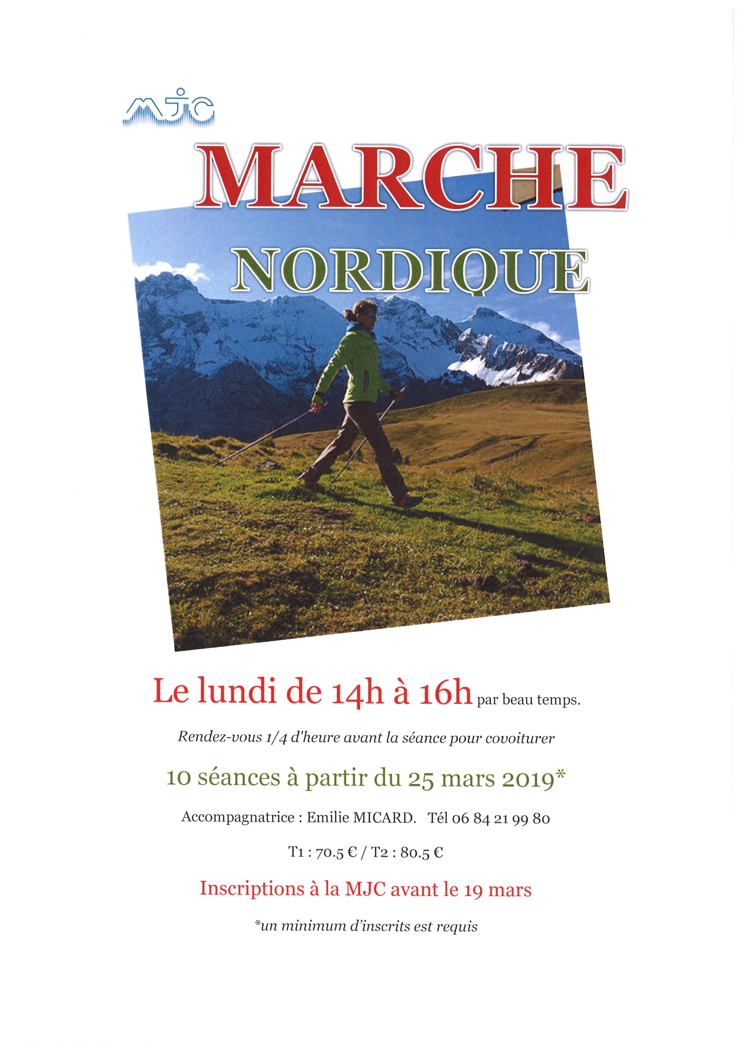 marche nordique 2019